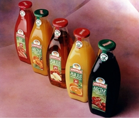 Aseptic non aseptic bottles clear juice concentrate
